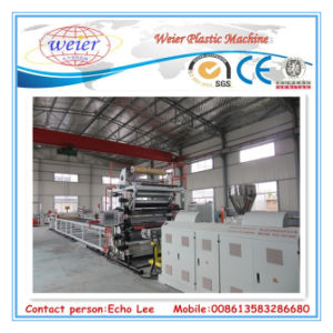 PVC Marble Wall Panel Production Line for 1220mmx2440mm pictures & photos