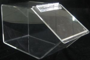 China Translucent Acrylic Hinged Candy Box A06 China Translucent