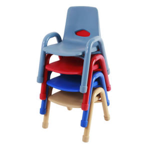 Plastic Chunky Stack Chair 9.5