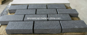 Black Flamed Granite Paver /G684 Paving Stone pictures & photos