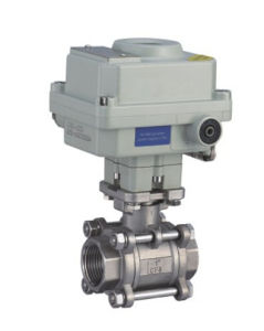 Ex Motorized Threaded Ball Valve pictures & photos