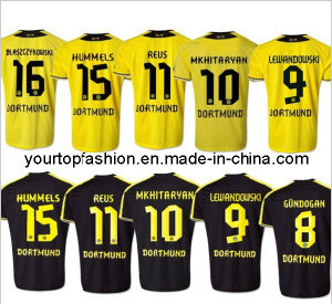 best sneakers 87ba2 93671 China Top Thailand Quality Borussia Dortmund Soccer Jersey ...