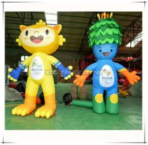 Welcome to Rio Olympic Games Vinicius and Tom Inflatable Cartoon Character