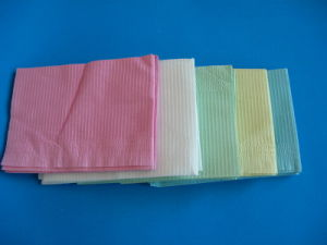 Disposable Colorful Dental Towels pictures & photos