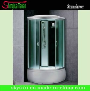 Quadrant High Tray Touch Screen Steam Shower Cabin (TL-8816) pictures & photos