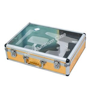 Transparent Acrylic Aluminum Tool Case (TOOL-003) pictures & photos