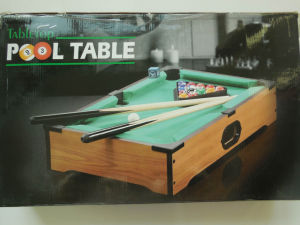 Portable Easy Snooker Billiard Mini Pool Table Tabletop (LL C038)