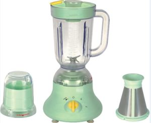 3in1 Home Blender Plastic Jar 1 Liter