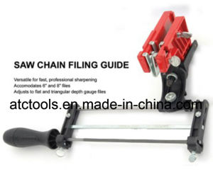 Chainsaw Round File & Flat File Filing Guide pictures & photos