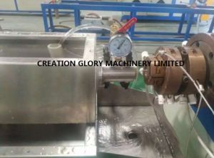 High Output Fully Automatic Fluorine Plastic Pipe Production Line pictures & photos