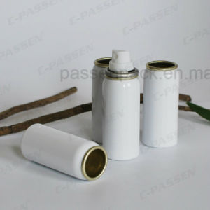 White Aluminum Aerosol Can for Cosmetic Perfume Spray Packing (PPC-AAC-043) pictures & photos