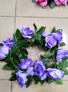 Wedding Decoration Flower Artificial Wreath pictures & photos