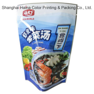 Plastic Compound Printing Sea Food Packaging Bag