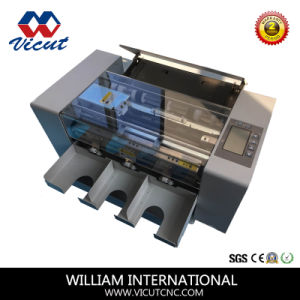 A4 Automatic Electric Name Card Cutter pictures & photos