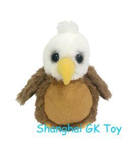 China Mascot Plush Baby Eagle In Big Eye China Plush Eagle Baby Eagle