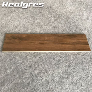 China Glazed Grey Outdoor Tile Meets Wood Floor - China Wood Tile ...