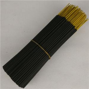 8 Inch 9 Inch Black Raw Incense Sticks Machine Made China