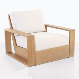 Hot Sale Patio Leisure Teak Wooden Sofa
