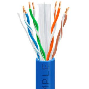 CAT6 1000FT UTP SOLID NETWORK ETHERNET CABLE BULK WIRE 550MHz RJ45 LAN Blue NEW