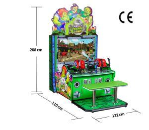 China Kids Zombie Land Battle Laser Shooting Killing Zombies Arcade