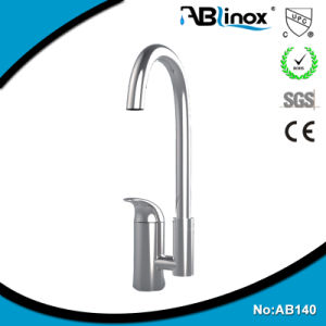 Stainless Steel Single Handle Kitchen Sink Faucet