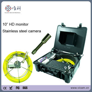 "Industrial 10"" HD Monitor Pipe Inspection Camera System with DVR Device pictures & photos"