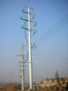 Power Transmission Line Pole Tower