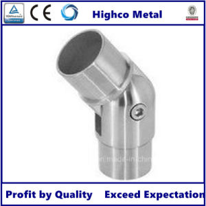 180 Degree Adjustable Flush Joiner for Stainless Steel Hanrail System pictures & photos