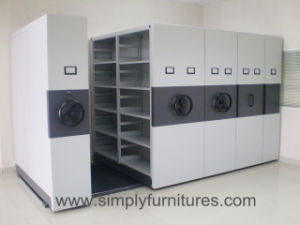 High Density Mobile Shelving pictures & photos