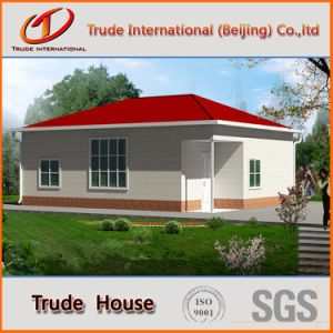Fast Installation Modular Building/Mobile/Prefab/Prefabricated Steel Livinghouse pictures & photos