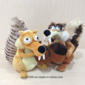 Squirrel Plush Toy with Pineal pictures & photos