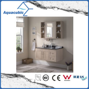 Bathroom Vanity with Artificial Marble Black Top Ceramic Basin (ACF8900) pictures & photos