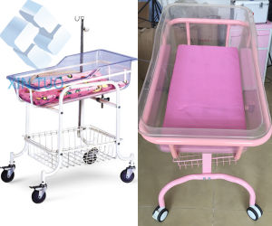 Cheap Infant Hospital Bed Acrylic Baby Crib Neonatal Cribs Baby pictures & photos