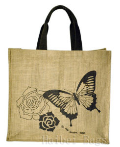 Plain Jute Bag for Shopping (hbjh-42) pictures & photos