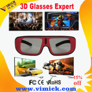 2015 New Style Passive Circular Polarized 3D Glasses for TV & Movies
