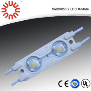 (MI5050-502W) SMD5050 2 LED Module/ LED Light with Lens pictures & photos
