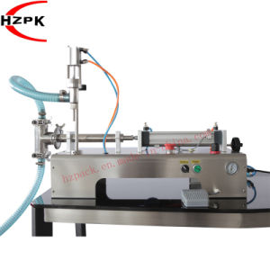 Horizontal Single Head Liquid Filling Machine Filler (G1WY500ml) pictures & photos