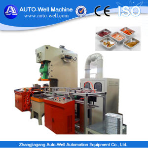 Aluminium Foil Container Punching Machine pictures & photos