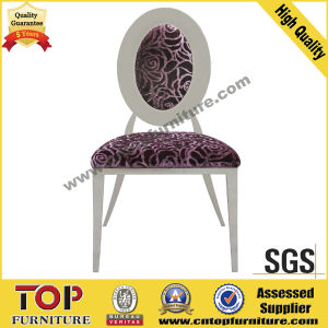 Hotel Classy Round Back Stainless Steel Dining Chairs pictures & photos