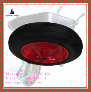 250-4, 300-8 350-8 400-8 High Quality Solid Rubber Wheel