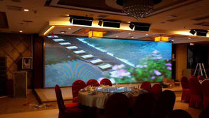 Wholesale P4 Full Color Indoor LED Video Wall pictures & photos