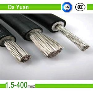 PV1-F Solar Cable with Rated Voltage AC 0.6/1kv pictures & photos