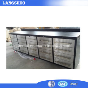 Stainless Steel Tool Chest, Drawer Tool Workbench Roller Cabinet