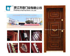 Turkish Style Steel Wooden Armored Door pictures & photos