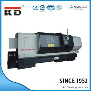 Economic and High Precision Flat Bed CNC Lathe Ck-6156 pictures & photos