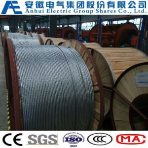 19no. 10AWG, Concentric-Lay-Stranded Aluminum-Clad Steel Conductors, as Wire