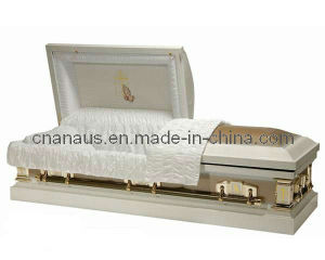 US Style 20 Ga Steel Casket (2052024) pictures & photos