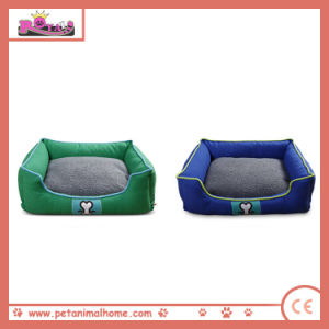 Pet Bed for Dogs in Green and Blue pictures & photos