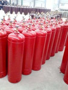 Medical Oxygen Seamless Steel Gas Cylinder