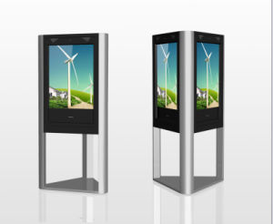 Code Reader Ad Touch Screen Interactive Info Kiosk pictures & photos